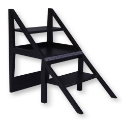 Rejig Chair Ladder Walnut Brown (Lacquered)