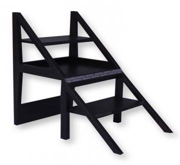 Rejig Chair Ladder Walnut Brown (PU)