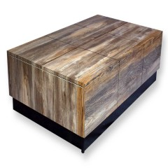 Arcade Special Walnut Center Table (Raw Mica)