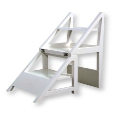 Rejig Chair Ladder White (Satin)