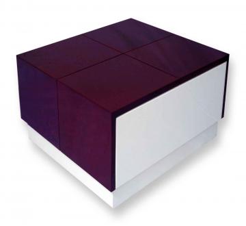 Arcade Junior Purple & White Center Table (PU – MICA Combo)