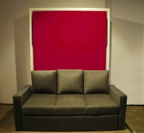 Couch Combo for Voguish Vertical Wall Beds