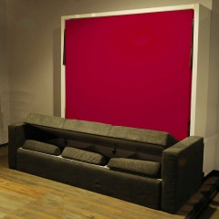 Voguish Vertical Wall Bed Couch Combo