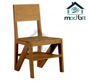 Rejig Chair Ladder Teak Wood (Lacquered)