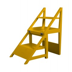 Rejig Chair Ladder Mustard Yellow (Satin)