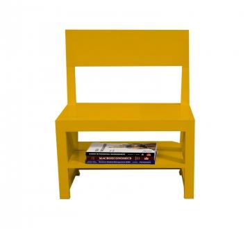 Rejig Chair Ladder Mustard Yellow (Satin)