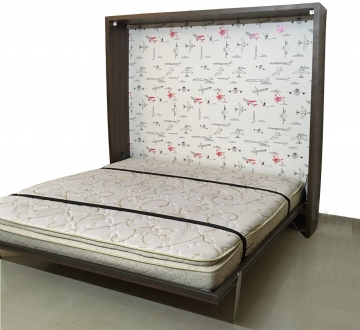 Eco-Voguish Vertical Wall Bed
