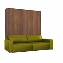 Eco-Voguish Vertical Wall Bed Couch Combo